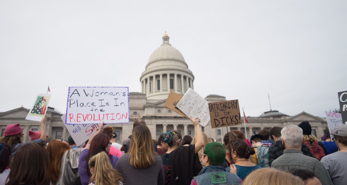 Women's March in Little Rock, AR